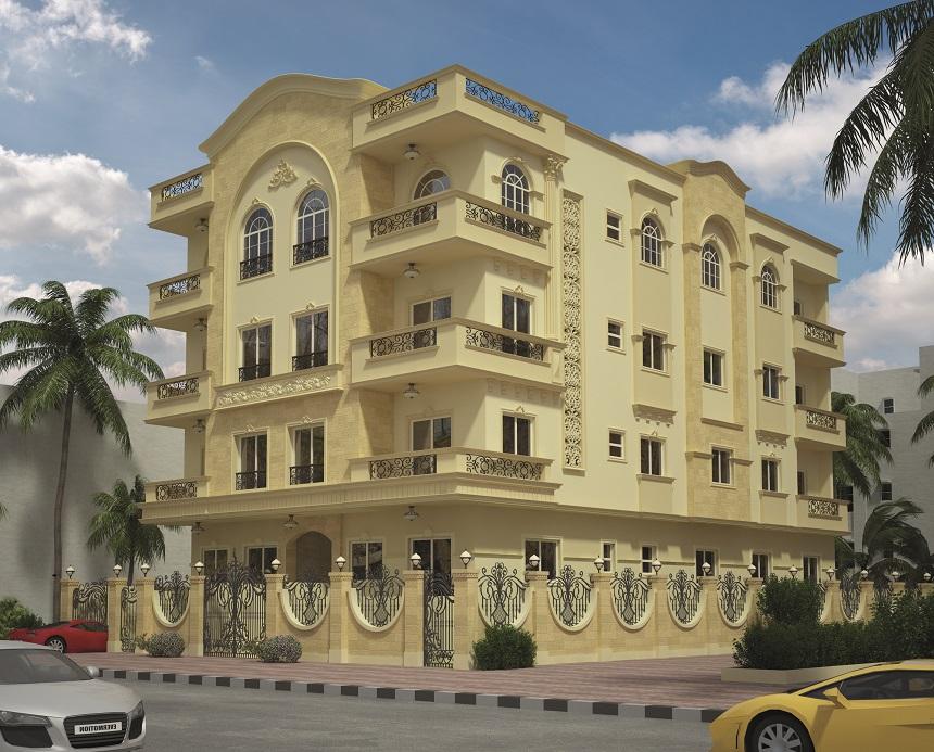 شقة بالاندلس 2 بالتجمع الخامس موقع متميز