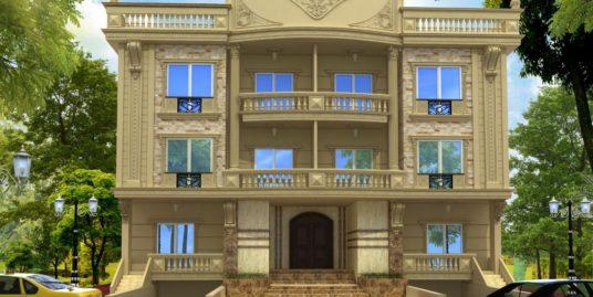 شقة بجنوب الاكاديمية أ بالتجمع الخامس مساحة 230مموقع متميز خطوات من الفطيم بتسهيلات للدفع