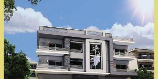 شقه بالنرجس 5 على حديقه مساحه 245م موقع متميز جدا بتسهيلات